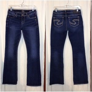NWOT Womens Silver Jeans Co Tuesday Mid Boot Jeans